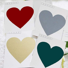 350pcs/lot Kawaii Golden Red Heart Dialog design Scratch coating DIY Self-Adhesive Gift Lables Stickers free shipping