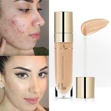 Pudaier Face Contour Concealer Liquid Waterproof Full Coverage Foundation Corrector Palette Base Professional Makeup Cosmetics