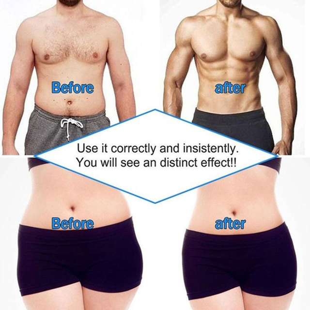 EMS Muscle Stimulator Trainer Smart Fitness Abdominal Training Stimulator Body Shaping Slimming Belt Unisex Stickers Massager 2