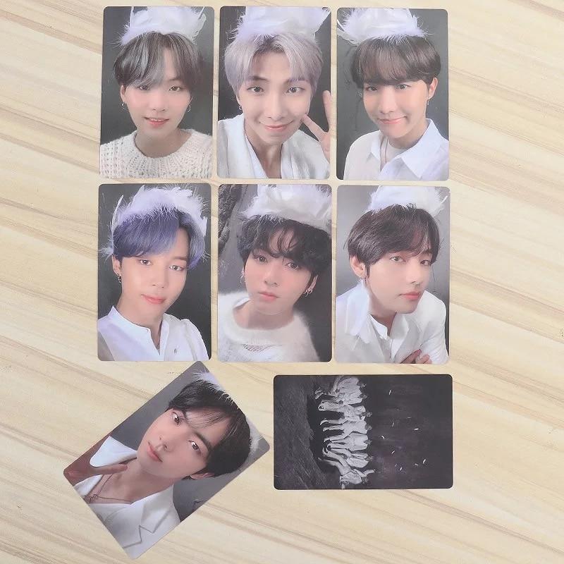 South Korean Groups K-POP Bangtan Boys JUNGKOOK Poster Lomo Card New Album Map Of The Soul 7 LOMO Card PhotoCards