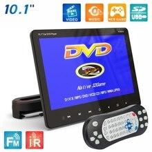 купить 10.1 Inches Car Headrest DVD Video Player Rear Seat Entertainment DVD-9/VCD/CD/USB/SD/HDMI/Game/Speakers SH1018DVD дешево