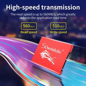 SOMNAMBULIST Metal bullfight SSD Plus Internal Solid State Hard Drive Disk SATA III 2.5