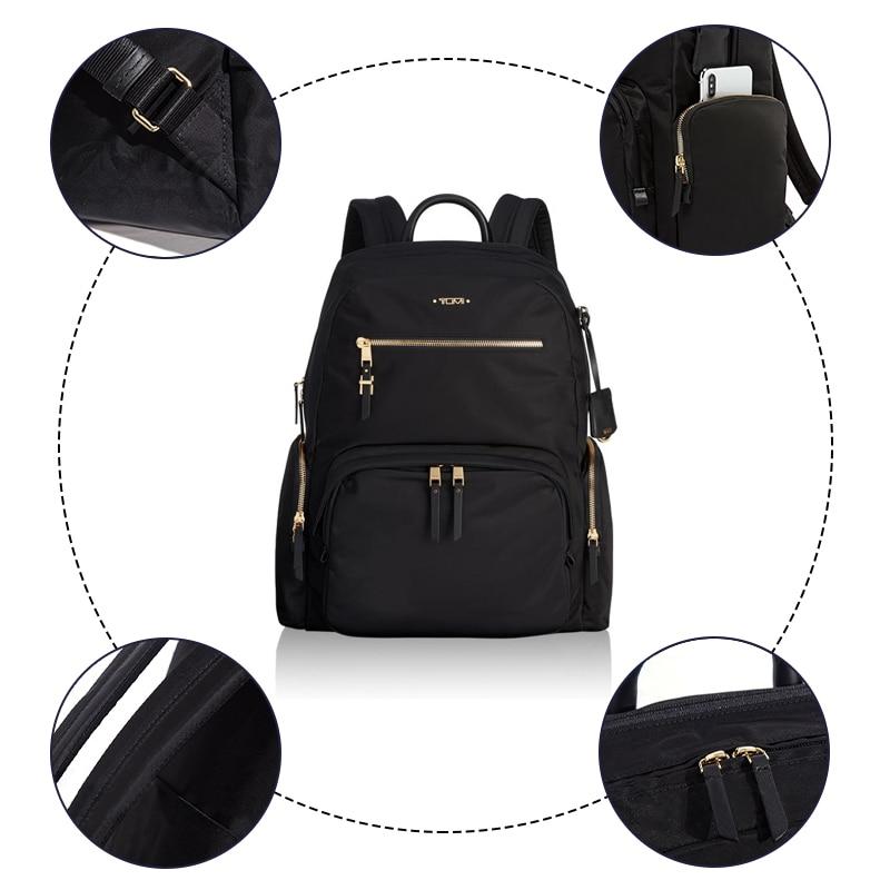 Computador portátil mochila grande aberto computador mochila portátil saco da faculdade das mulheres resistente à água saco de viagem de negócios pacote - 4