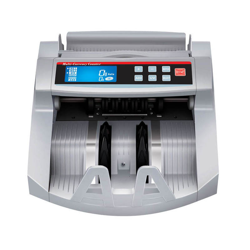 Hot-sale 2108D With LCD Display  Easy Operation Currency Counting Machine Automatic Multi-Money Counter Billnote Detector