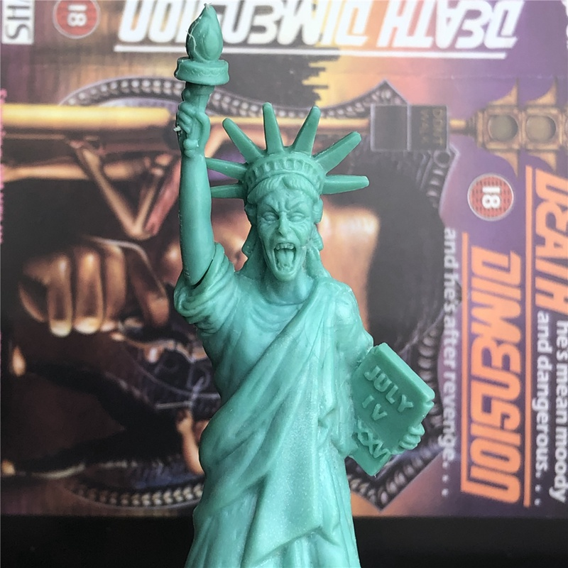 Original Garage Kid 12cm Action Figure Statue Of Liberty The Weeping Angel Doll Toy PVC Figure Model Collectible Model Toy Gifts