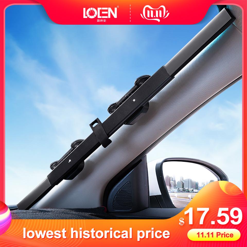 46/65/70/80 x 170CM Car sunshade Retractable windshield Block sun shade cover Front/Rear window foil Curtain for Solar UV proect