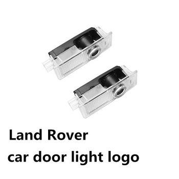 цена на 2PCS Led Car Door Welcome Light Projector Logo Ghost Shadow Lamp For Land Rover Range Rover Discovery 3 4 Freelander 2 Dedicated