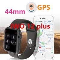 GPS SmartWatch IWO11 IWO 12 Plus women Men Series 5 call Heart rate sensor GPS Tracker Smart watch for iphoen huawei xiaomi