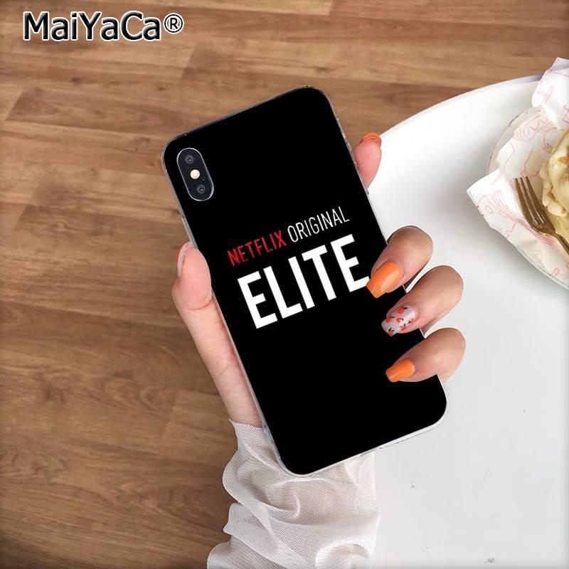 MaiYaCa Spanish TV series Elite Custom Photo Phone Case for Apple iPhone 11 pro 8 7 6 6S Plus X XS MAX 5 5S SE XR cover
