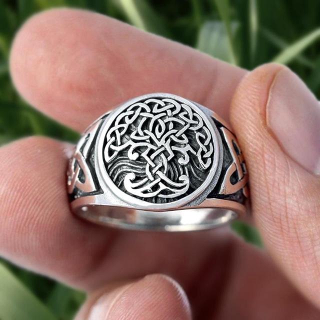 Bague viking arbre