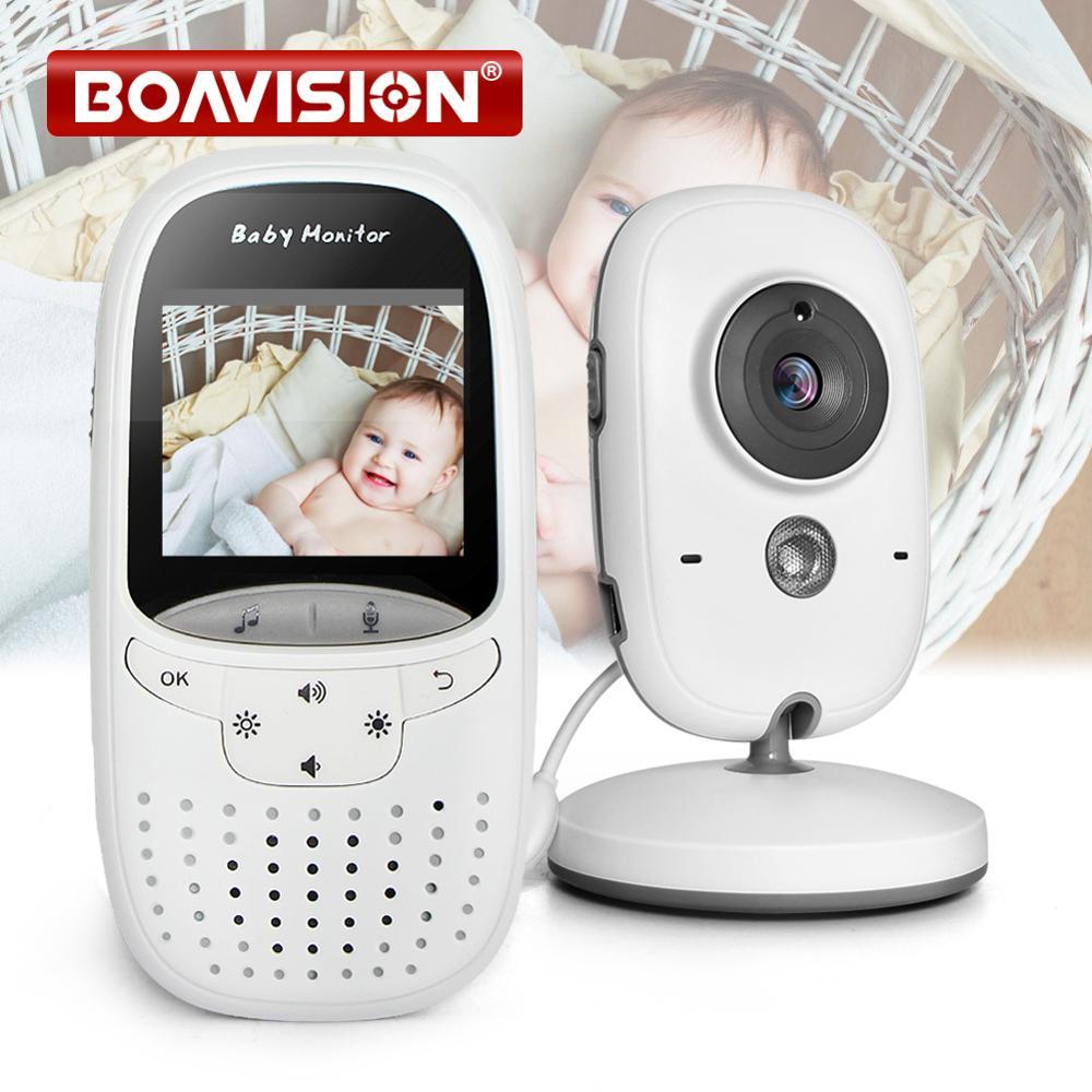 Baby Monitor VB602 IR Night Vision Temperature Monitor Lullabies Intercom VOX Mode Video Baby Camera Walkie Talkie Babysitter