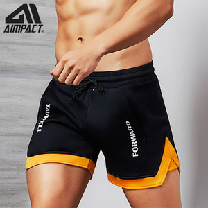 Image 1 - Aimpact Fashion Casual Shorts for Men Athletic Running Workout Gym Training Shorts Sport Soft Homewear Short Trunks AM2209
