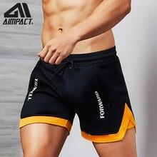 Aimpact moda casual shorts para homens atlético correndo treino ginásio shorts de treinamento esporte macio homewear calções curtos am2209