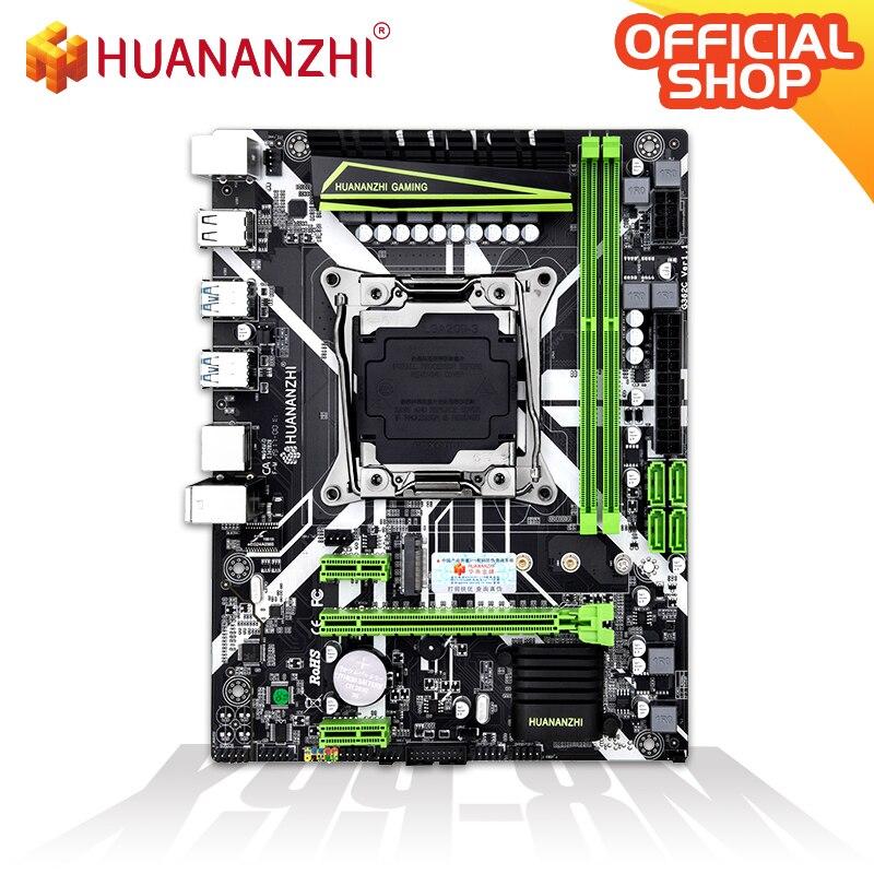 HUANANZHI X99-8M Motherboard Intel XEON E5 X99 LGA2011-3 All Series DDR4 RECC/NON-ECC Memory NVME USB3.0 ATX