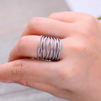 silver wholesale s925 pure silver jewelry fashion handmade silver restoring ancient ways ring opening ring more female