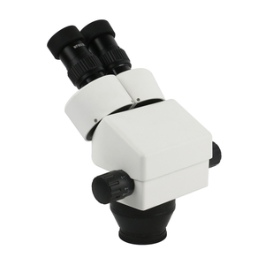 Image 2 - 7X 45X Continuous Zoom Stereo Binocular Microscope A1 Lifting Adjustment Holder Arm 56LED Light For Industrial Phone Repair