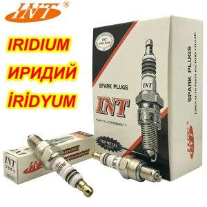 4 шт. INT Подлинная иридиевая Свеча зажигания HIX-C7 для U22FSZU Z7G CR7HIX CR7HSA C7HSA CR7HGP IUF22 IUF20 J4520IUF22 90793-22114