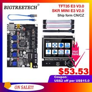 BIGTREETECH SKR MINI E3 V2.0+TFT35 E3 V3.0 Touch Screen Motherbaord Integrate TMC2209 For Ender 3 pro Printer Cr10 Updated
