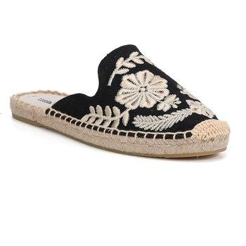 2019 Rushed New Arrival Hemp Summer Flip Flops Pantufas De Pelucia De Bichos Tienda Soludos Espadrilles Slippers For Flat Shoes  3