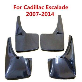 Брызговики Автомобильные Брызговики щиток грязи крыло брызговиков для Cadillac Escalade 2007-2014 Аксессуары для стайлинга автомобилей