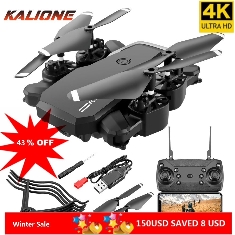 LF609 Drone 4K  HD Camera WIFI FPV With Wide Angle Drones High Hold Mode Foldable Arm RC Quadcopter Follow Dron 1080p