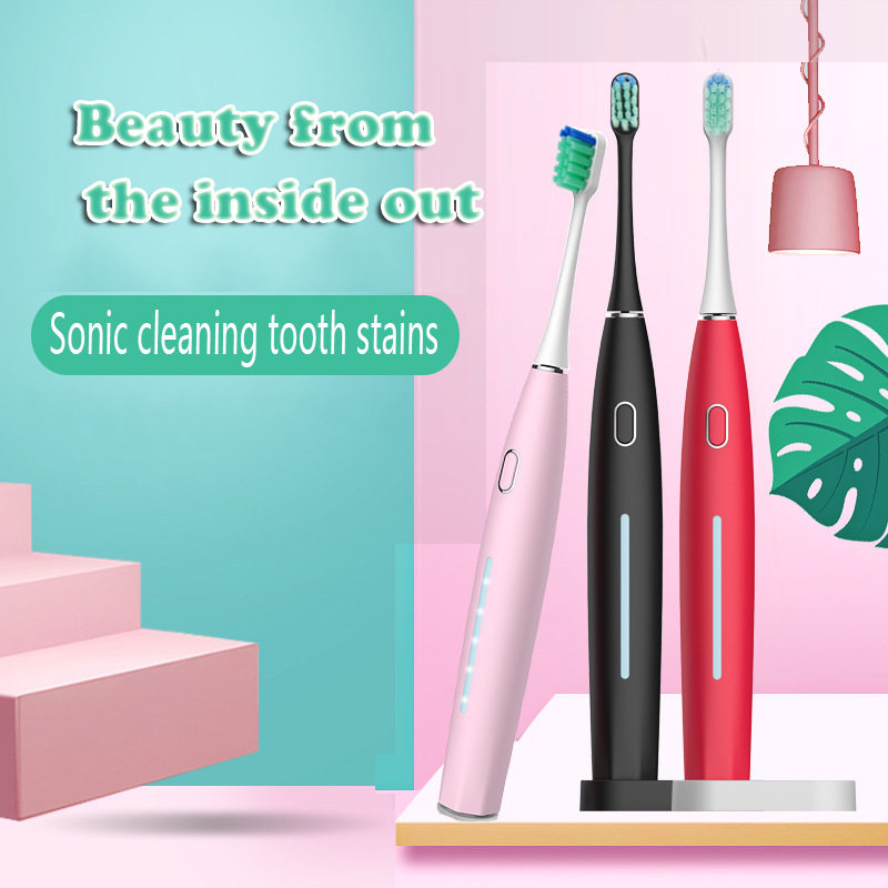 DXM Electric toothbrush sound wave rechargeable top quality smart chip toothbrush head can replace whitening health best gift image