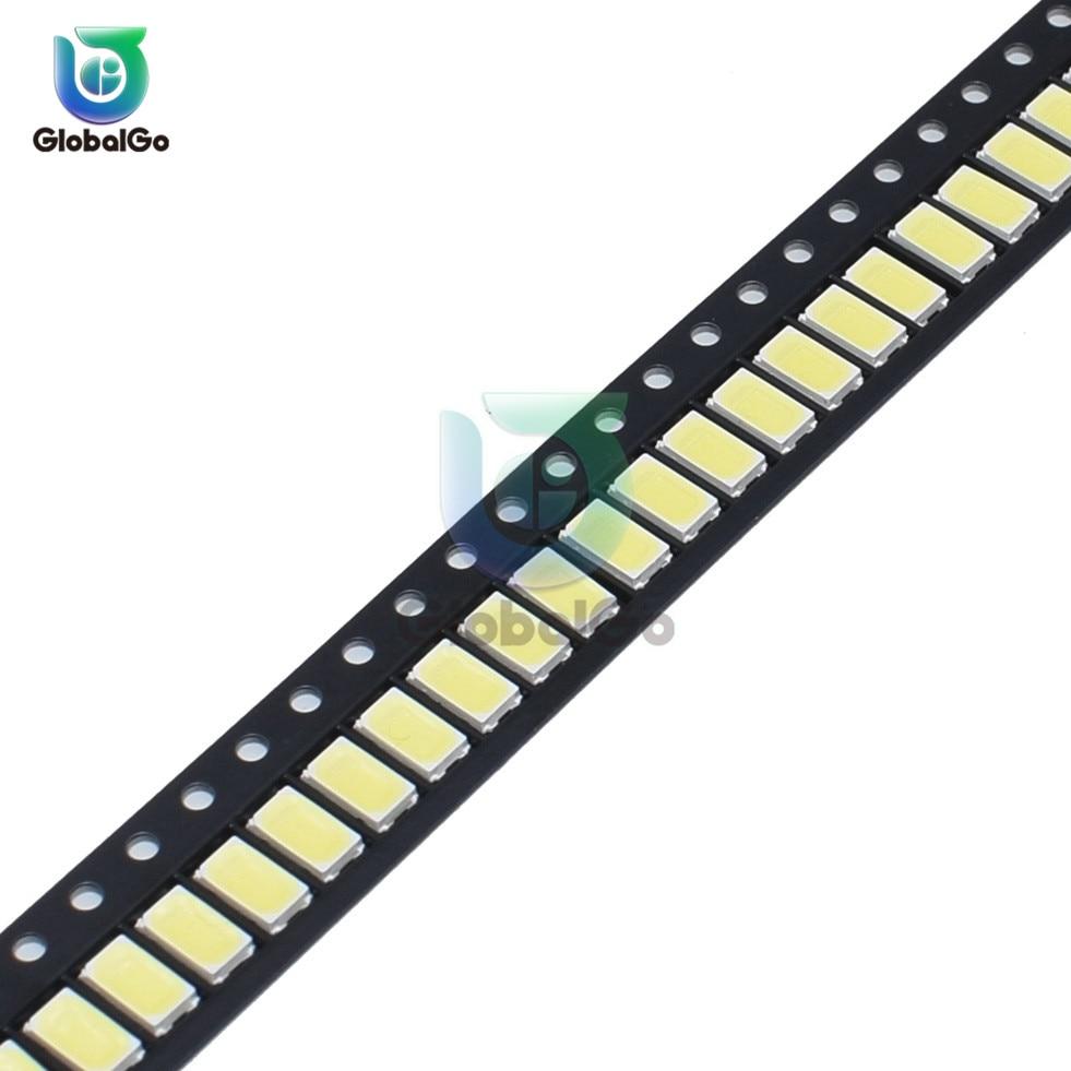 100pcs/Lot 5730 0.5W 50-55lm 6500K 6050-7000K White Light SMD 5730 LED 5730 Diodes (3.3~3.6V) White Light LED Chip Lamps