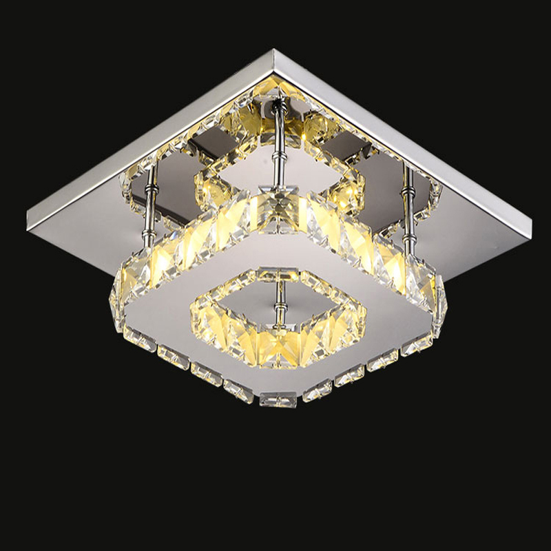 Hdae5a172aab74351895dd788f5e13332v Indoor ceiling crystal lamp modern LED ceiling lamp living meal bed room home decoration