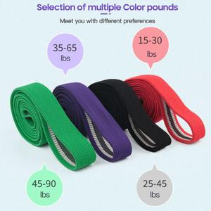 Women Yoga Stretch Strap Exercise Resistance Bands Loop Set Fitness Equipment Sport Home Gym Sports Elastic Band