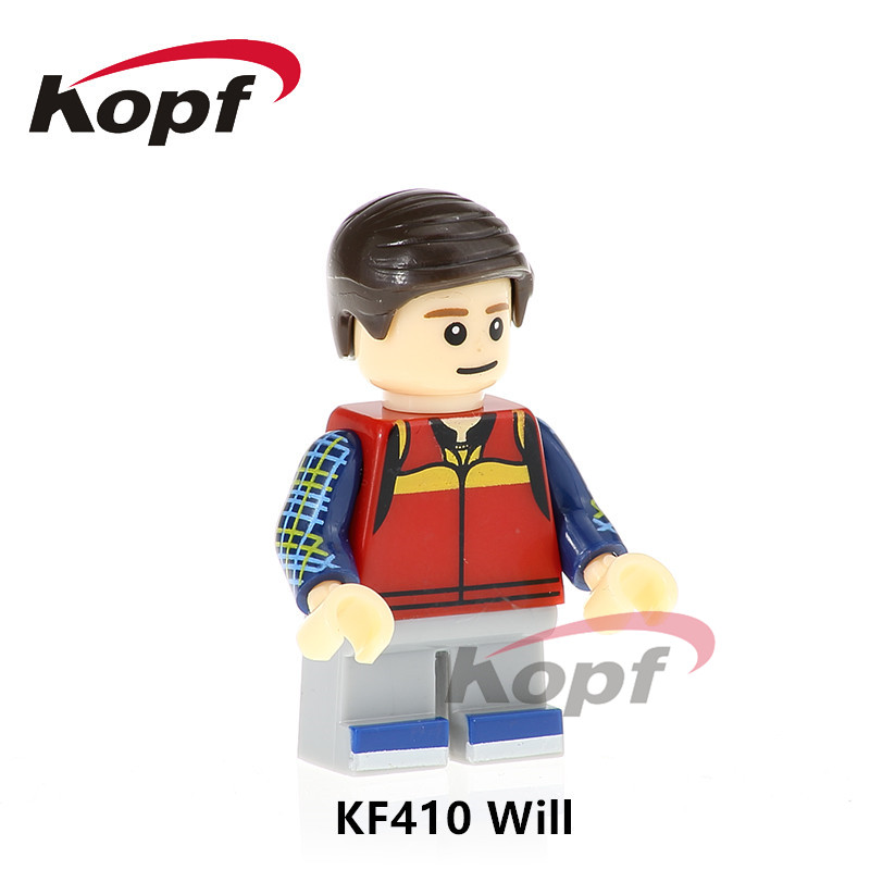 Single Sale Will Stranger Things Mike Dustin Dolls Super Heroes Building Blocks Children Collection Gift Toys Bricks KF410 image