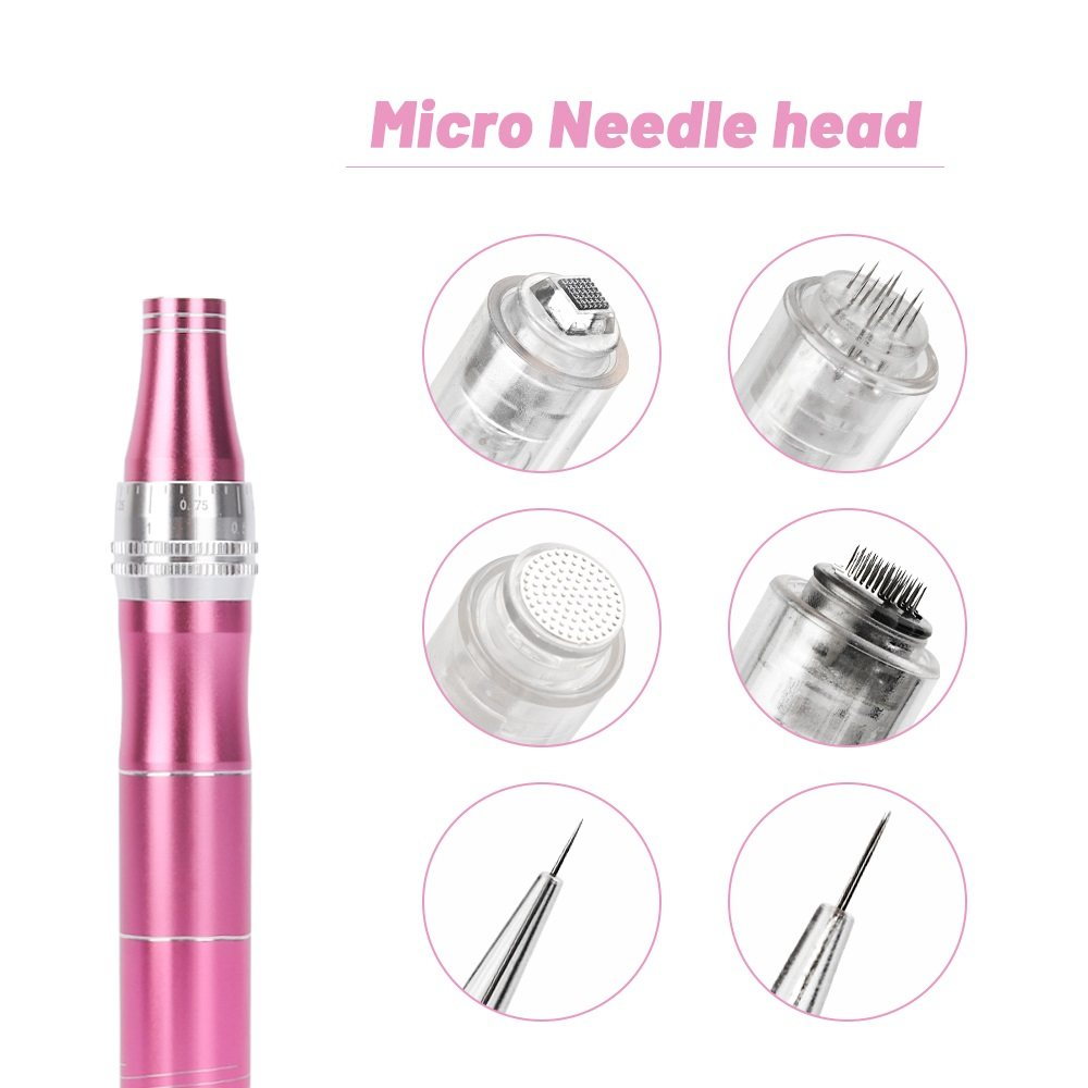 10/50pcs Micro needle Screw Cartridge Replacement For Micro-needling Pen 9 pin / 12 pin / 36 pin / nano / 5D Tattoo Needles set