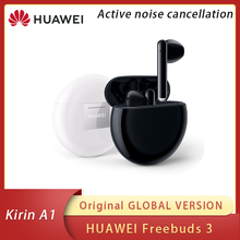 Original Huawei Freebuds 3 Freebuds3 Global Version In Stock Huawei Wireless Headsets Active Noise Reduction Bluetooth Earphone