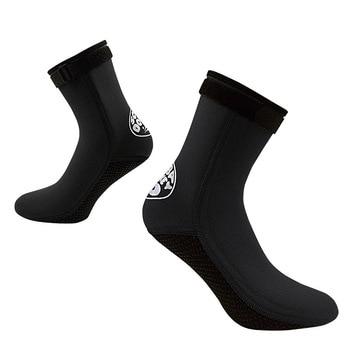 Men Women 3mm Neoprene Diving Socks Boots Water Sport Shoes Anti Slip Beach Warm Wetsuit Shoes Snorkel Surfing Swim Socks omnilux oml 26921 02