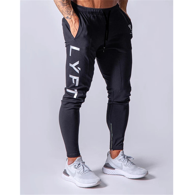 Sports pants men's jogger fitness trousers  2