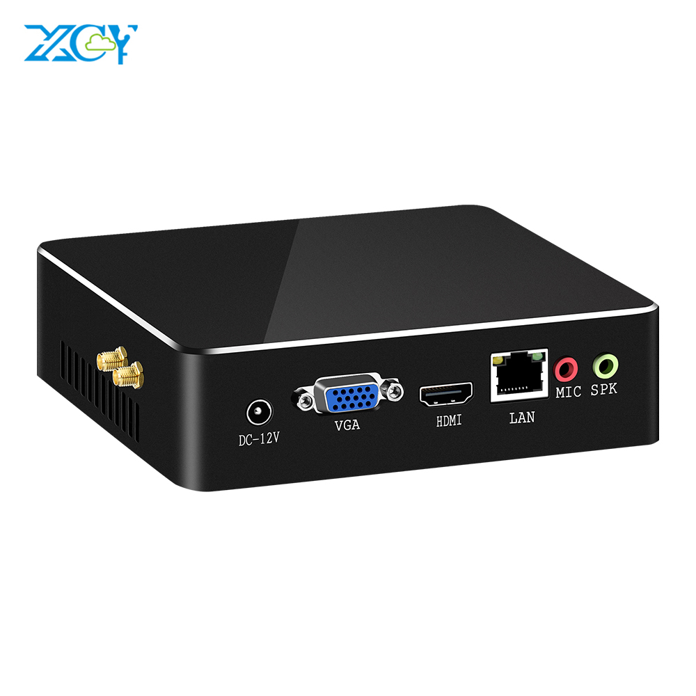 XCY 6th Gen Mini PC Core I3 6157U I5 6360U I7 6567U 4K UHD HDMI Nettop USB3.0 WiFi DDR3 RAM Windows 10 Micro Desktop Computer