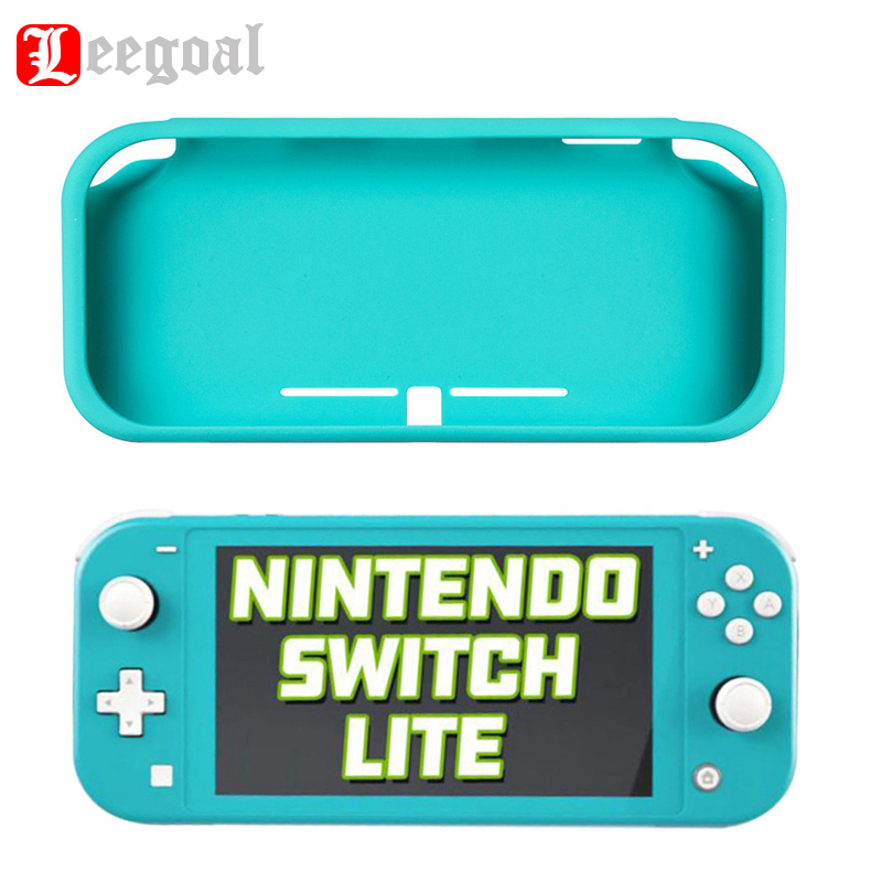 New Silicone Case For Switch Lite Game Console Controller Gaming Protection Accessories Half Shell Protective Case