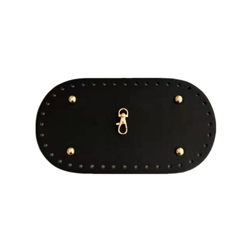 6pcs/Set  Leather Sewing Bag Parts Accessories for DIY Shoulder Bucket Bag Handbag