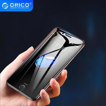 ORICO 2 adet temperli cam iphone 8 7 6 6S ekran koruyucu sertleştirilmiş cam iphone 7 artı koruyucu cam filmi