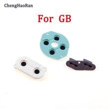 1 conjunto novo adesivo condutor para nintendo game boy clássico gb silicone borracha almofada chave console dmg sistema