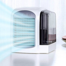 Portable air-conditioner cooler portable air-conditioner water-cooled fan USB office desktop handheld water-cooled fan
