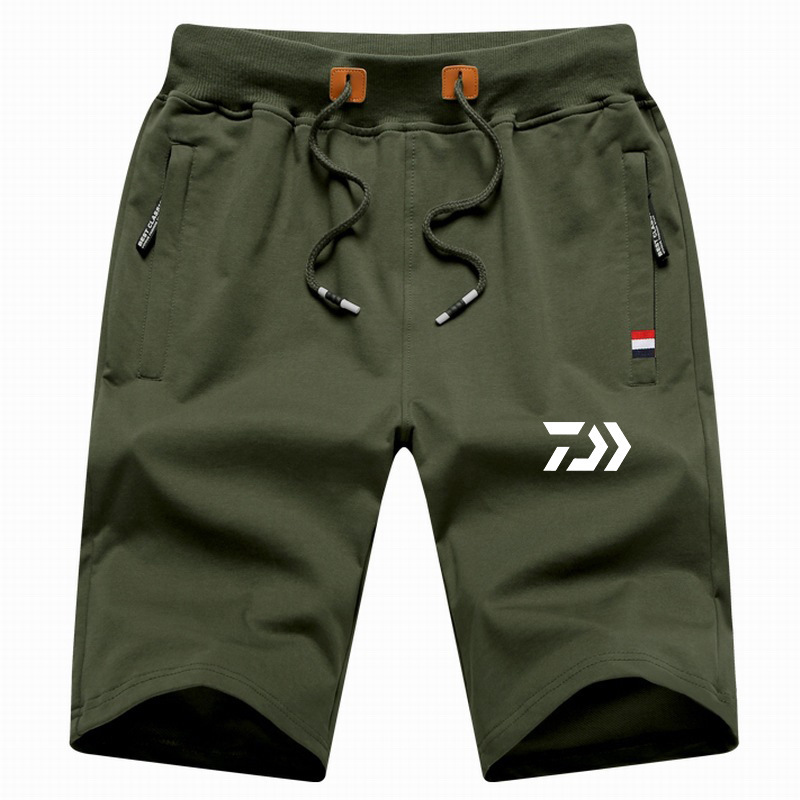 New Arrive M-5XL Daiwa Big Size Men Fishing Short Pant Summer Outdoor Hiking Climbing Sports Pants Fishing Clothing Trousers