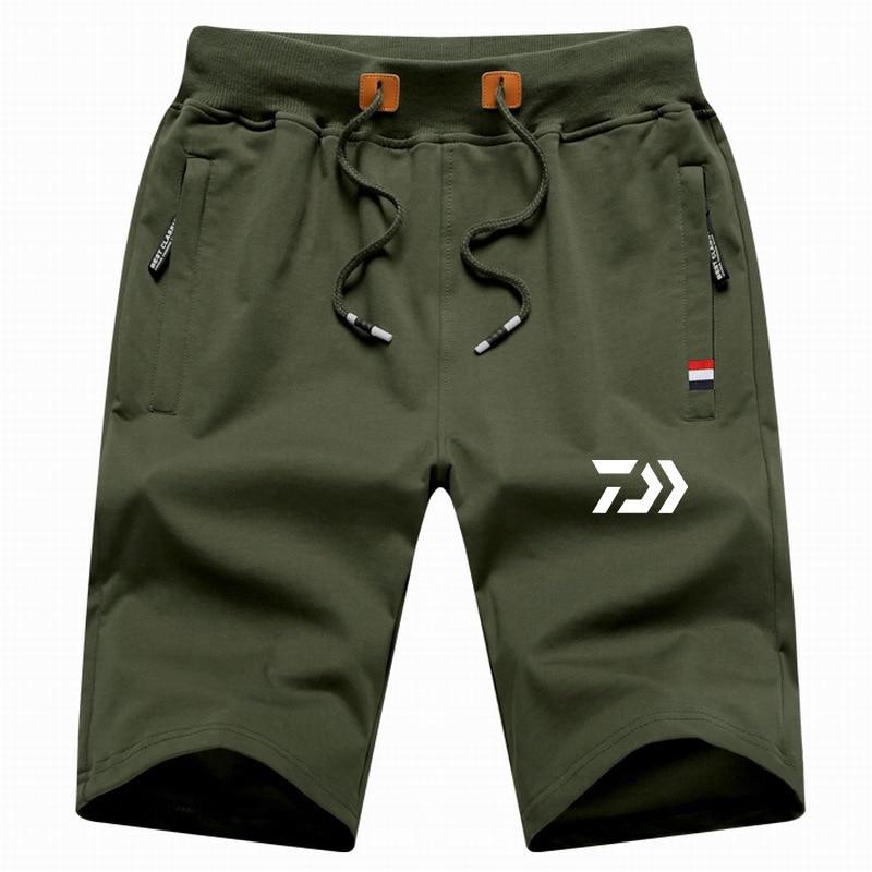 New Arrive M-5XL Daiwa Big Size Men Fishing Short Pant Summer Outdoor Hiking Climbing Sports Pants Fishing Clothing Trousers