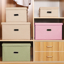 Multi-Functional Washable Storage Box Foldable Storage Box Environment-Friendly Durable Large Capacity
