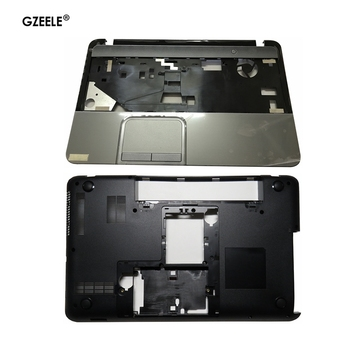 NEW case cover FOR Toshiba Satellite L850 L855 C850 C855 C855D Palmrest COVER without touchpad/Laptop Bottom Base Case Cover v000275300 for toshiba for satellite c850 c855 l850 l855 hm70 motherboard 100% work perfectly