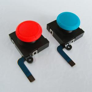 Image 3 - 20 قطعة عصا تحكم تناظرية ثلاثية الأبعاد العصي قطعة بديلة لمستشعر ل نينتندو سويتش NS ل Joy Con تحكم أجزاء إصلاح أسود