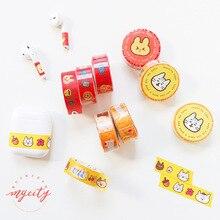 Label Masking-Tape Etude-Series Journal Office-Supply School Cute Kawaii DIY Cat