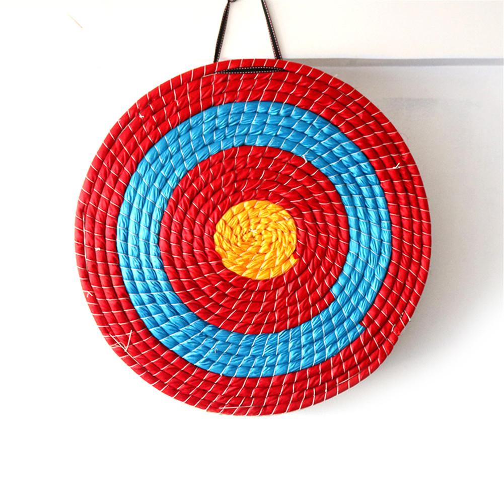 Outdoor Round Archery Bow Straw Target Antique Style Slice Coiled Practice Shooting Dart Board club competition training supply
