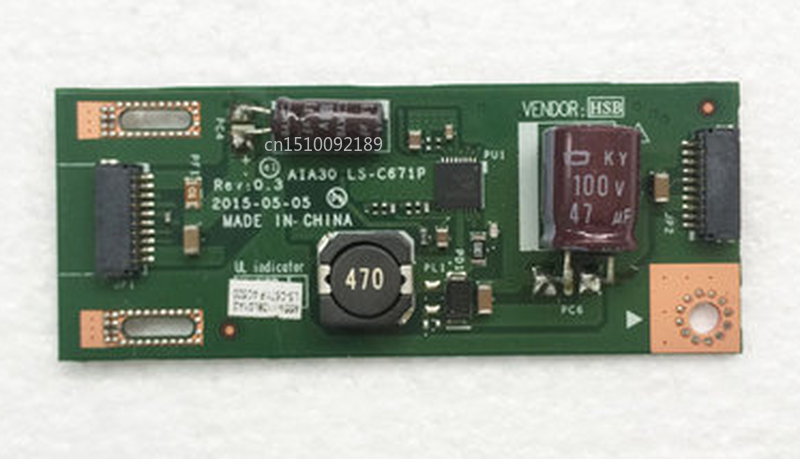 Free Shipping Original Laptop For Lenovo C20 C20-00 All In On PC Computer AIA30 LS-C671P 01AJ772 Sub Converter Connector Board