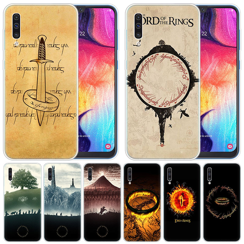 Soft Silicone Case Lord Of The Rings One For Samsung Galaxy A50 A70 A80 A40 A30 A20 A10 A20E A2 CORE A9 A8 A7 A6 Plus 2018 Cover