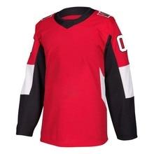 Men's Stitch America Hockey Jersey Ottawa Ice Fans Brady Tkachuk Bobby Ryan Erik Karlsson Jerseys